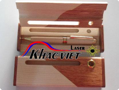 khắc laser, cắt laser, cung cấp quà tặng hộp viết gỗ